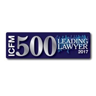 ICFM 5000 Leading Lawyer 2017