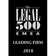 The Legal 500 EMEA Leading Firm