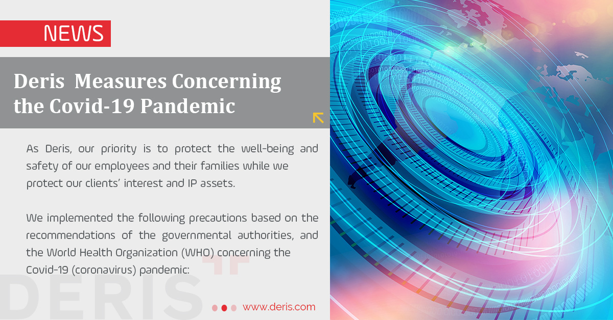 Deris Measures Concerning the Covid-19 Pandemic