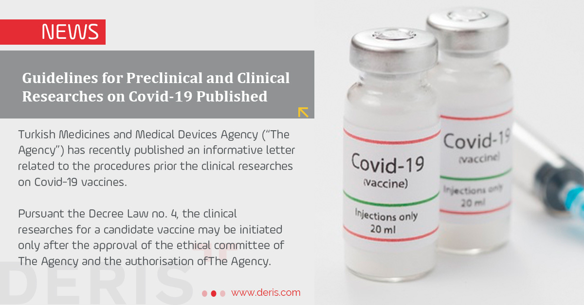 Guidelines for Preclinical and Clinical Researches on Covid-19 Published
