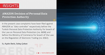 AMAZON Decision of Personal Data Protection Authority